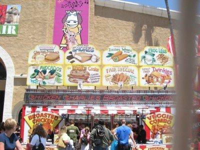 San Diego County Fair - Chicken Charlie's