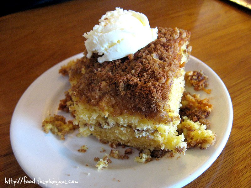 Coffee Cake - Big Kitchen / San Diego, CA - This Tasty Life