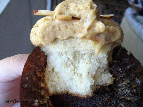 Almond Cupcake | La Crepe Fraiche - San Diego, CA