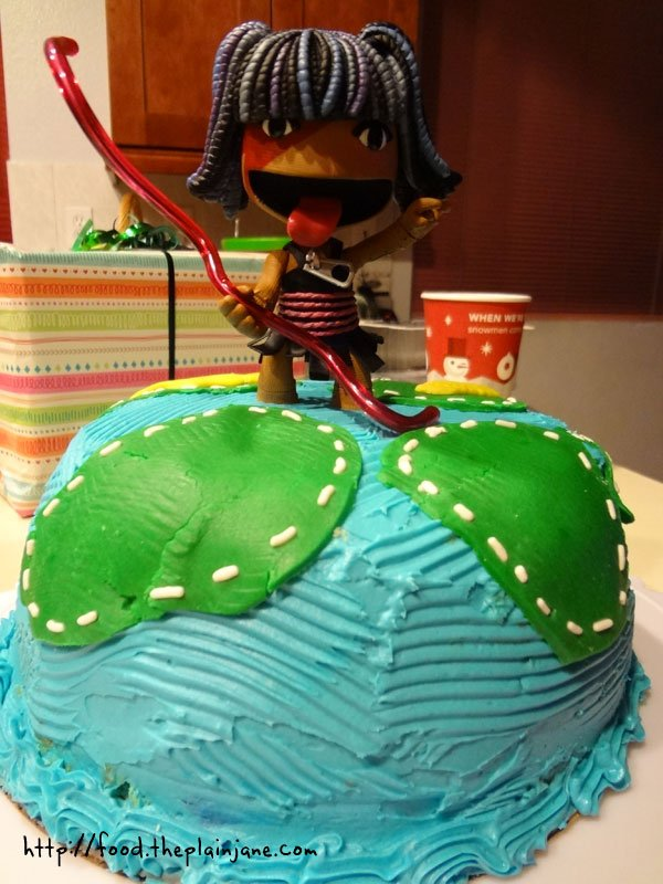 Outstanding Little Big Planet Cake With Sackgirl 2 This Tasty Life Birthday Cards Printable Riciscafe Filternl