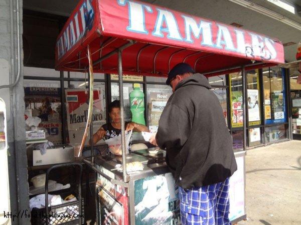 tamales-cart