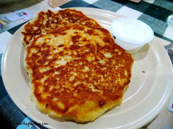 Amish Potato Cakes - Yoder's Amish Village - Sarasota, FL