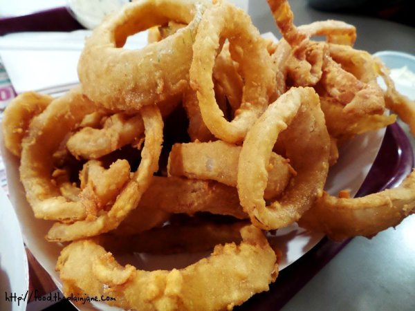Fried Onion Rings - SS Lobster, Fitchburg, MA