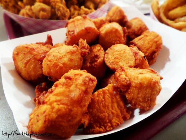 Basket of Fried Scallops - SS Lobster, Fitchburg, MA