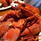 triple lobsters at fishtales in hatfield, ma