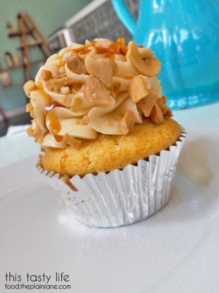 Caramel Cashew / Frost Me Gourmet Cupcakes