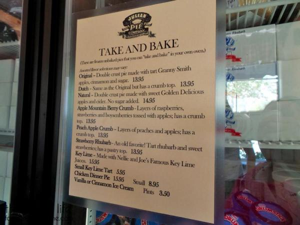 julian-pie-company-take-n-bake-menu
