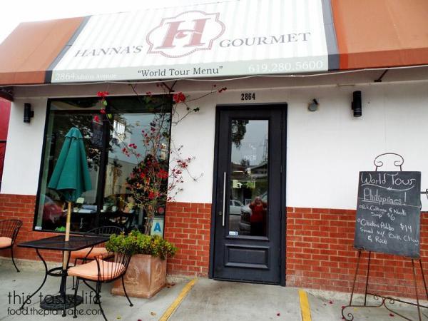 Hanna's Gourmet / San Diego, CA