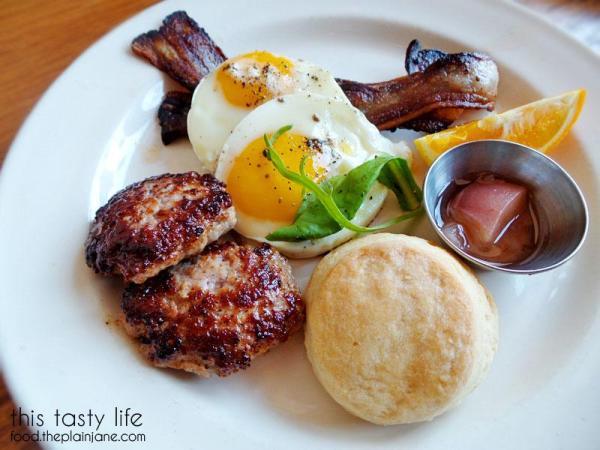 2x2x2 Breakfast Plate / Salt's Cure - Los Angeles | West Hollywood