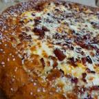fish sauce wings + pretzel crust pizza from little caesars