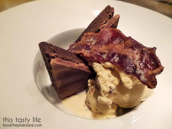 Bourbon Fudge Brownie - Carson Kitchen | Las Vegas | This Tasty Life