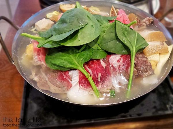 Hot Pot ready to cook / QT Pot - Mira Mesa, San Diego / This Tasty Life