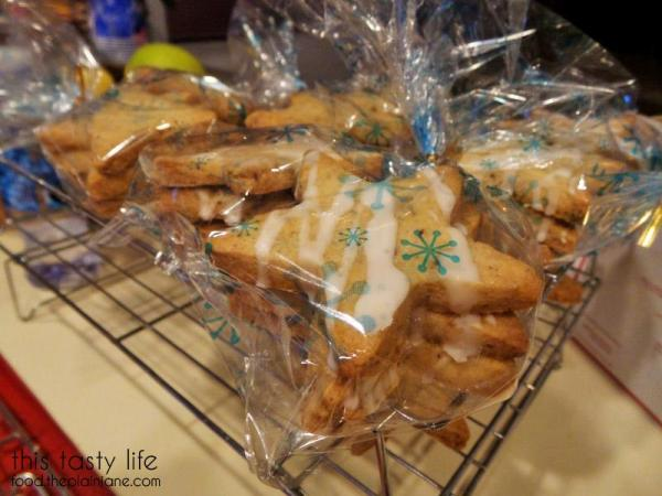 Packaged Shortbread Star Cookies | This Tasty Life