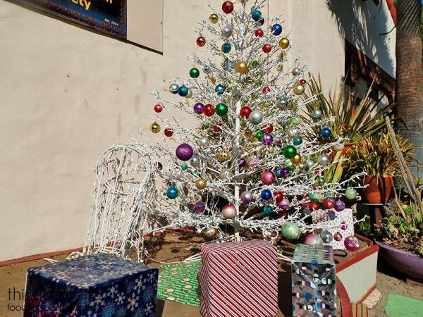 silver-christmas-tree-spanish-village