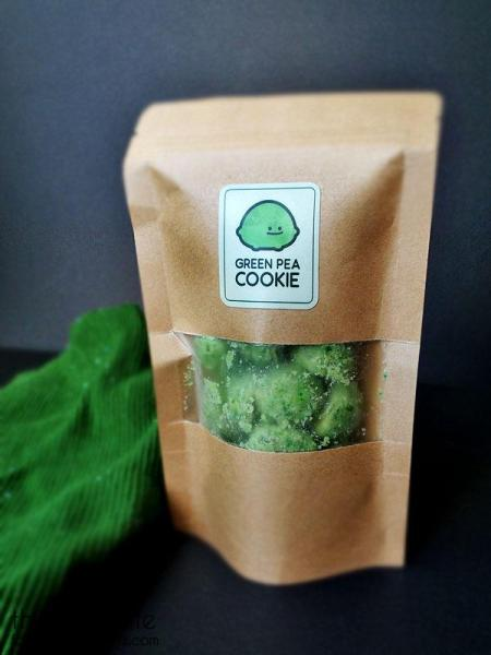 Green Pea Cookie Bag