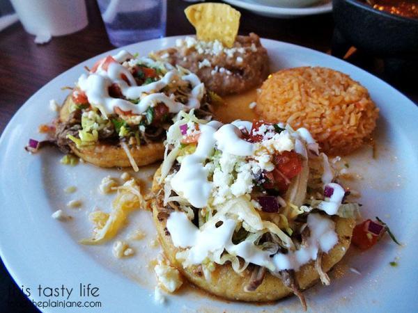Sopes with beef   La Palapa Nayarit - San Diego, CA   This Tasty Life