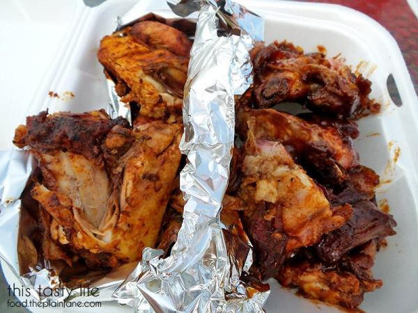 Half chicken and half ribs | Jose's Pollos - San Diego, CA