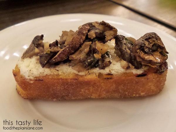 Mushroom and Ricotta