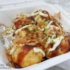 takoyaki stand at the mira mesa farmer's market