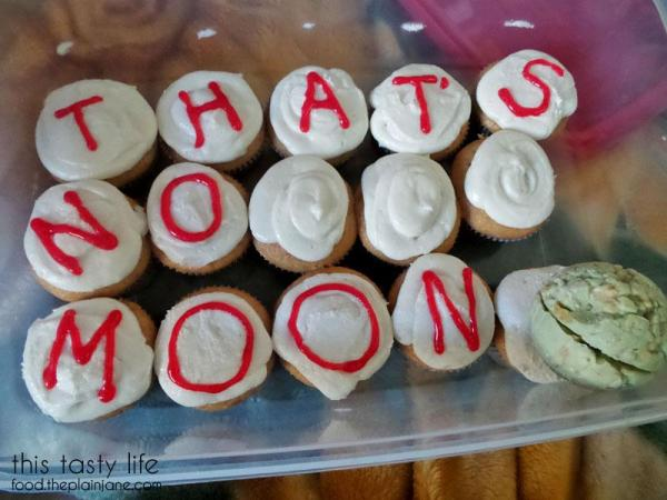 That's No Moon - Star Wars Cupcakes