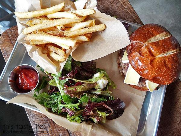 Brie Burger - Draft Republic | San Diego, CA