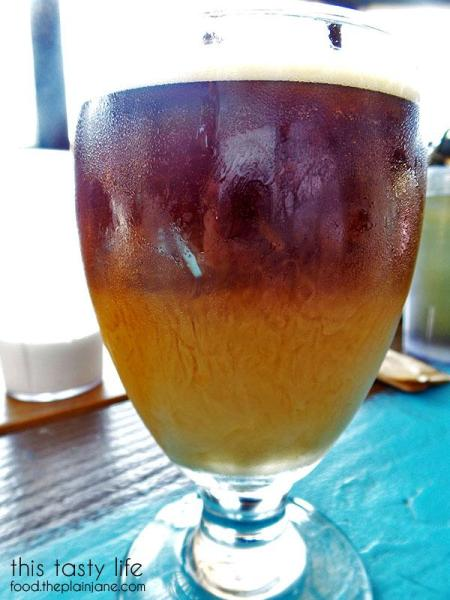 Cold Brew Coffee with Creamer / Nate's Garden Grill | San Diego, CA - This Tasty Life