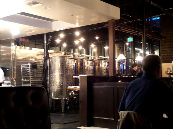 Wine Vats at The Cork and Craft | Rancho Bernardo - San Diego - This Tasty Life