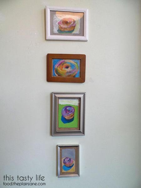 Donut Wall Art at Nomad Donuts / San Diego, CA