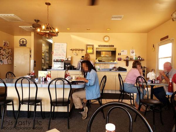 Inside the Morongo Valley Cafe