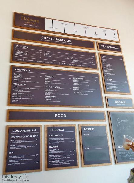 Full Menu | Holsem Coffee - North Park - San Diego, CA