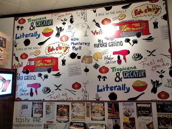 Mural at Fat Choy   Las Vegas, NV