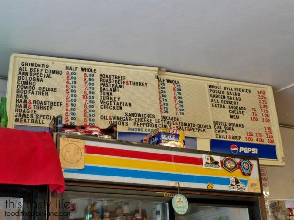 Menu at The Grove Grinder Sandwich Shop | Lemon Grove - San Diego, CA