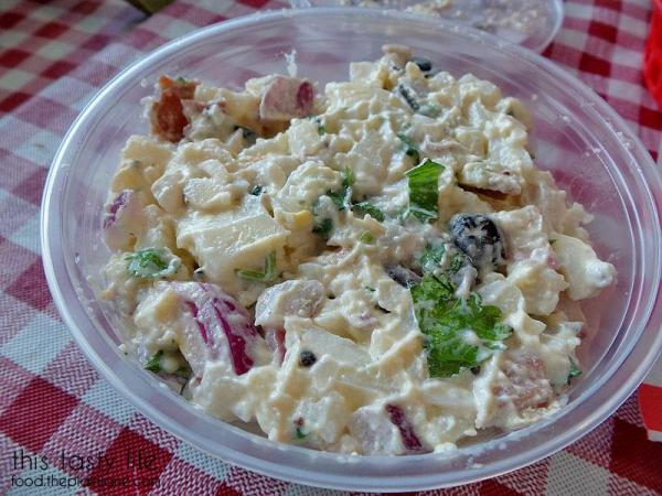 Stacey's Potato Salad at The Grove Grinder Sandwich Shop | Lemon Grove - San Diego, CA
