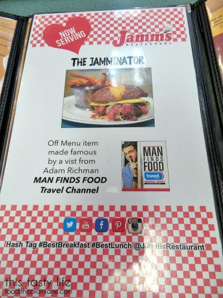 The Jamminator | Jamms Restaurant - Las Vegas, NV