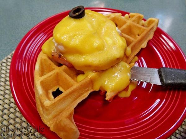 Waffle Benedict | Jamms Restaurant - Las Vegas, NV