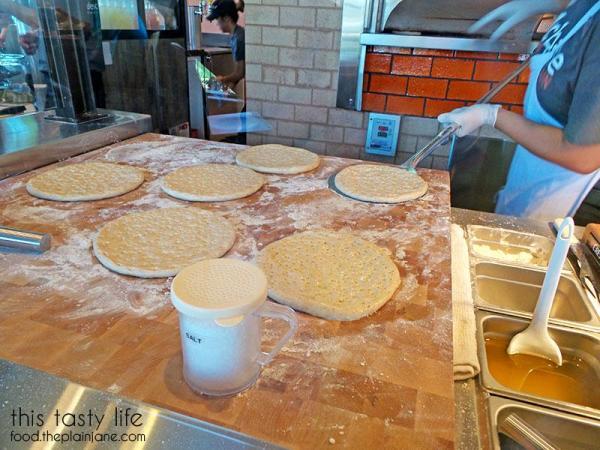 making-focaccia-bread