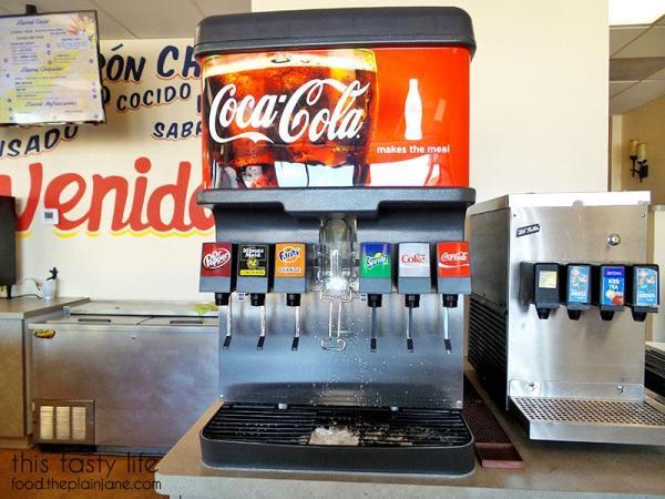 Drink Machine | Mama Testa Tacqueria - San Diego, CA