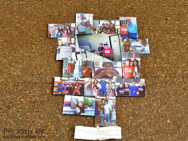 Photo Collage | College Sub Shop - San Diego, CA
