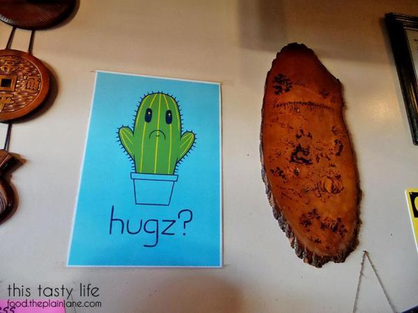 Catcus Hugz Poster   Jeong Won Korean BBQ Buffet - San Diego, CA