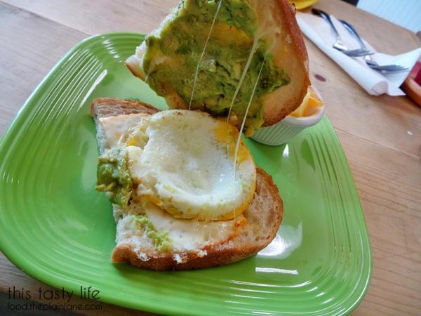 Sandwich innards - Sunny Side Kitchen - Escondido, CA