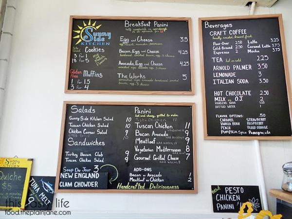 Menu / Sunny Side Kitchen - Escondido, CA