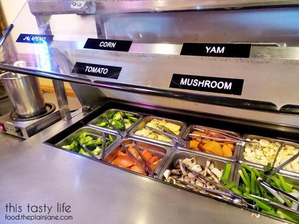 Veggies | Jeong Won Korean BBQ Buffet - San Diego, CA