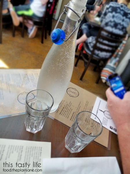 Bottled Water at Jake & Eggs | San Diego - Ocean Beach
