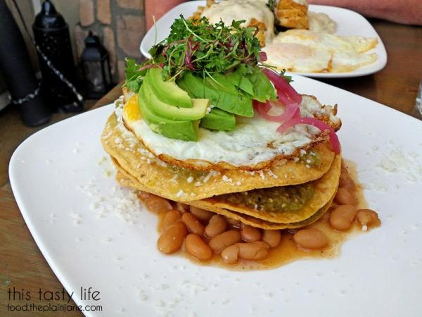 Chilaquiles Side View at Jake & Eggs | San Diego - Ocean Beach