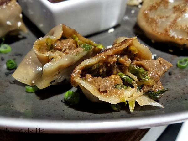 Inside the Filet Mignon Potstickers - Blush Ice Bar | San Diego, CA