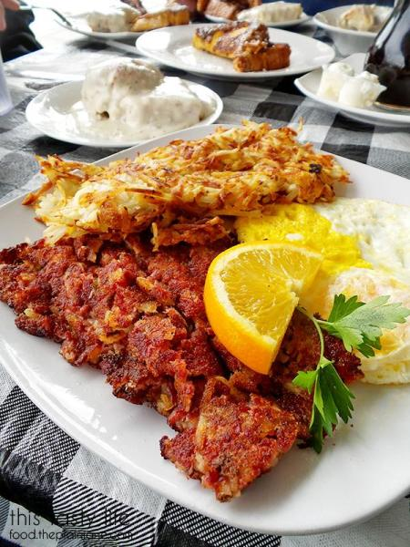 Breakfast Plate at Suzy Q's Diner - Escondido, CA