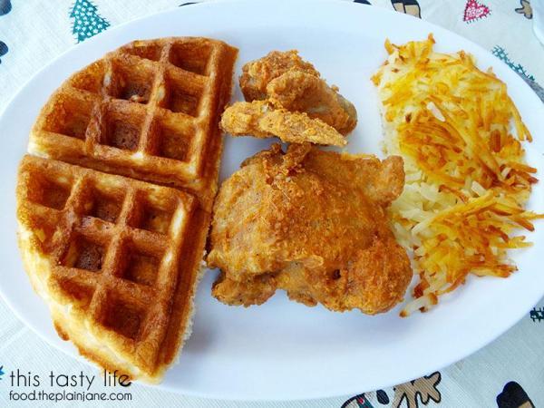 My half of breakfast - The Huddle | San Diego, CA | This Tasty Life - http://food.theplainjane.com