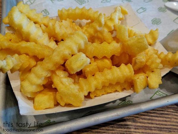 Crinkle Cut Fries at Shake Shack | Las Vegas | This Tasty Life - http://food.theplainjane.com