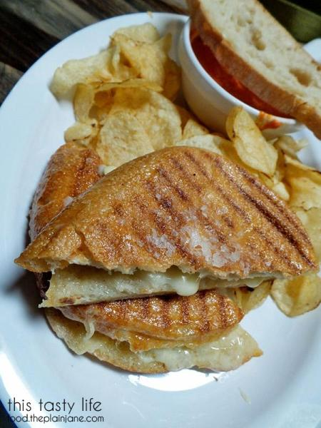 Grilled Cheese Sandwich | Rough Draft Brewing Company - San Diego, CA | This Tasty Life