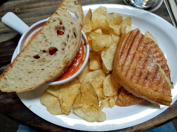 Grilled Cheese with Tomato Soup | Rough Draft Brewing Company - San Diego, CA | This Tasty Life